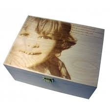 engraved memory box large engraved wooden keepsake memory box wedding chic