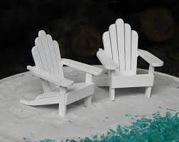 Miniature Adirondack Chair Chair Cake Toppers Etsy