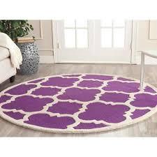 Purple Rug Sale Marvelous Round Purple Rug Spring Sale Safavieh Evoke Collection
