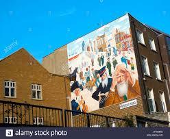 michael barrett wall mural in mile end whitechapel london uk kathy michael barrett wall mural in mile end whitechapel london uk kathy dewitt