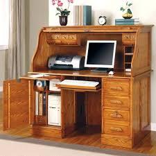 Solid Wood Computer Desk Small Solid Wood Computer Desk Oak Secretary Desk A Student Desk
