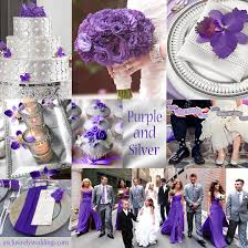 and silver wedding purple wedding color combination options exclusively weddings