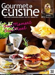 magasine cuisine น ตยสาร gourmet cuisine รายเด อน ราคาบนปก90 บาท