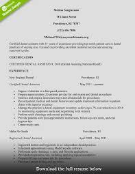 uncc resume builder how to make dental assistant resume writing dental assistant how to build a great dental assistant resume examples