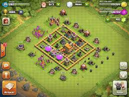 coc village layout level 5 top 10 clash of clans town hall 6 trophy base layouts