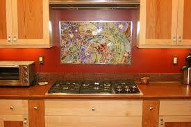 mirror backsplash kitchen interesting brown wooden kitchen cabinet with mosaic mirror