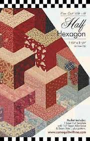 half hexagon quilt aka inner city i think i u0027m ok slipping this in