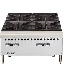 gas cooktop commercial vcrh vulcan