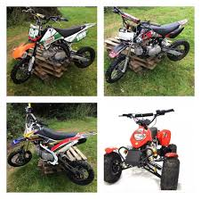 125 motocross bikes for sale bikes for sale pit bike pitbike kids quad rfz 125 m2r 110 in