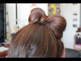 hair bow tie heatless up do s how to tie your hair into a bow