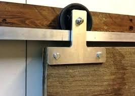 Exterior Sliding Door Track Systems Barn Door Track System Mjex Co