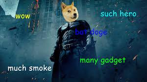 Doge Meme Wallpaper - batdoge doge know your meme