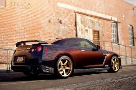 Nissan Gtr Review - midnight opal alpha 7 gt r package review