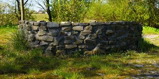 free images tree rock architecture autumn stone wall garden
