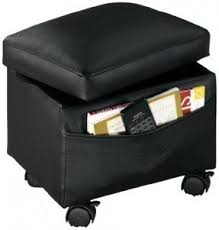 File Storage Ottoman Ottomans With Wheels Foter