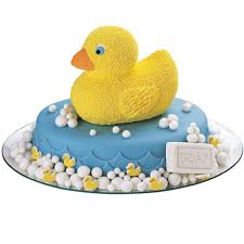 Rubber Ducky Icing Decorations