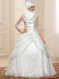 wedding dress muslimah tulle muslim wedding dresses style selections dresswe