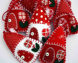 patchwork ornaments part 27 folded fabric quilted