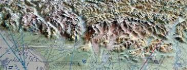 Northern Lights Avionics Anchorage U0026 Alaska Range 3d Aerochart Summit Maps