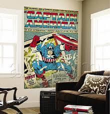 Comic Book Room Decor Marvel Wall Decoration Wall Ideas Avengers Wall Art Photo Marvel
