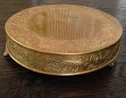 gold wedding cake stand 14 inch gold wedding cake stand melitafiore