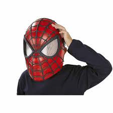 spiderman mask halloween marvel the amazing spider man 2 spider vision mask walmart com