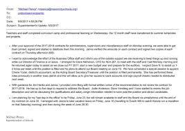 Contract Administration Job Description Mason City Board Emails Director U0027s 27 Pay Bump Raises
