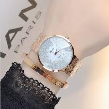 crystal bracelet watches images 2017 latest style women watch luxury fashion crystal tassel women jpg