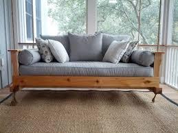 Trampoline Hanging Bed by Diy Hanging Bed U2014 Jbeedesigns Outdoor Porch Bed Swings Building
