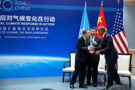 Barack Obama Flag File Ban Ki Moon Xi Jinping And Barack Obama In Hangzhou 2016 09