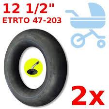 chambre air 312x52 250 2x chambre a air adaptable 47 203 poussette slalom powertwin
