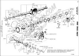 ford ranger rear axle ford truck technical drawings and schematics section a front