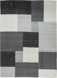 Black And White Modern Rug by Modern Flat Weave Carpet L N11587 By Doris Leslie Blau