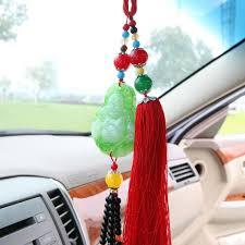 imitation jade buddha pendant car ornaments car car accessories