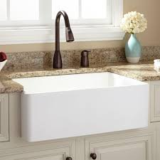 Stainless Steel Sink With Bronze Faucet Kitchen Astounding Drop In Farmhouse Kitchen Sinks Farmhouse