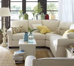Small Sectional Sofa Small Sectional Sofa Pottery Barn Video And Photos