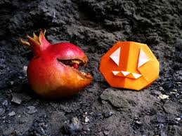 origami halloween origami halloween pumpkin