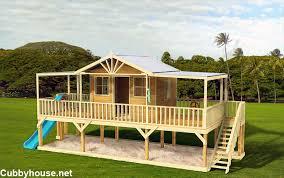 queenslander cubby house australian made backyard playground