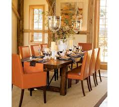 Dining Room Decorating Ideas by Fall Preview Chic Halloween Wood Tables And Black Table