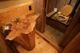 outhouse bathroom ideas outhouse style guest bathroom our small future cabin house