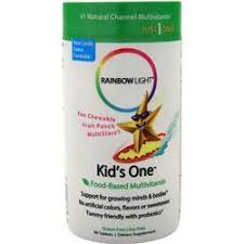 rainbow light kids one rainbow light kids one chewy vitamins all star health