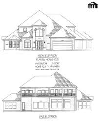 Home Design Story Online Game 4068 0211 5 Bedroom 2 Story House Plan