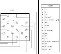 rover car radio stereo audio wiring diagram autoradio connector