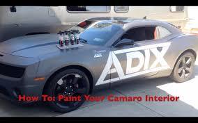2012 camaro performance parts how to paint interior trim in a 2012 camaro exterior