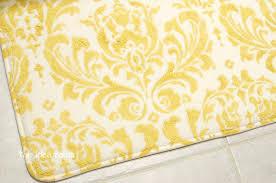 Yellow Bathroom Rug Yellow And Gray Bathroom Rug Envialette Roselawnlutheran Amazing