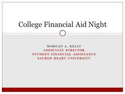 financial aid fast start the system produced by the college