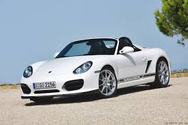 electric porsche porsche to test electric sports vehicle based on boxster photos