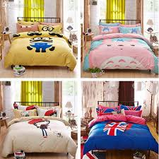 Duvet 100 Cotton Wholesale 100 Cotton Cartoon Set Children U0027s Bedding Set Three