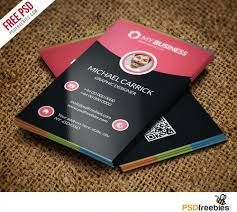 Free Business Card Maker Download Modern Corporate Business Card Free Psd Vol 2 Corporate Business