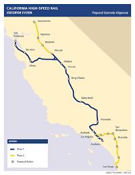 ca map multimedia maps california high speed rail authority